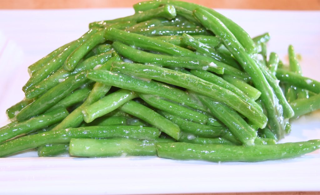 119. String Beans w/Garlic Sauce 蒜蓉四季豆