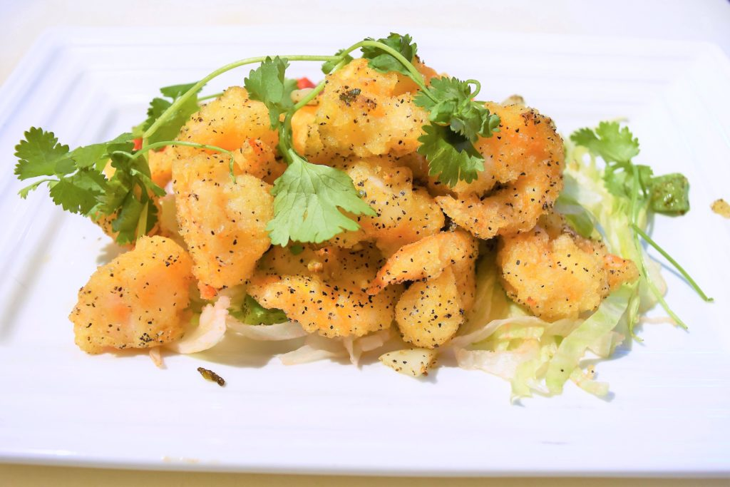 94. Salt& Pepper Prawns 椒鹽蝦