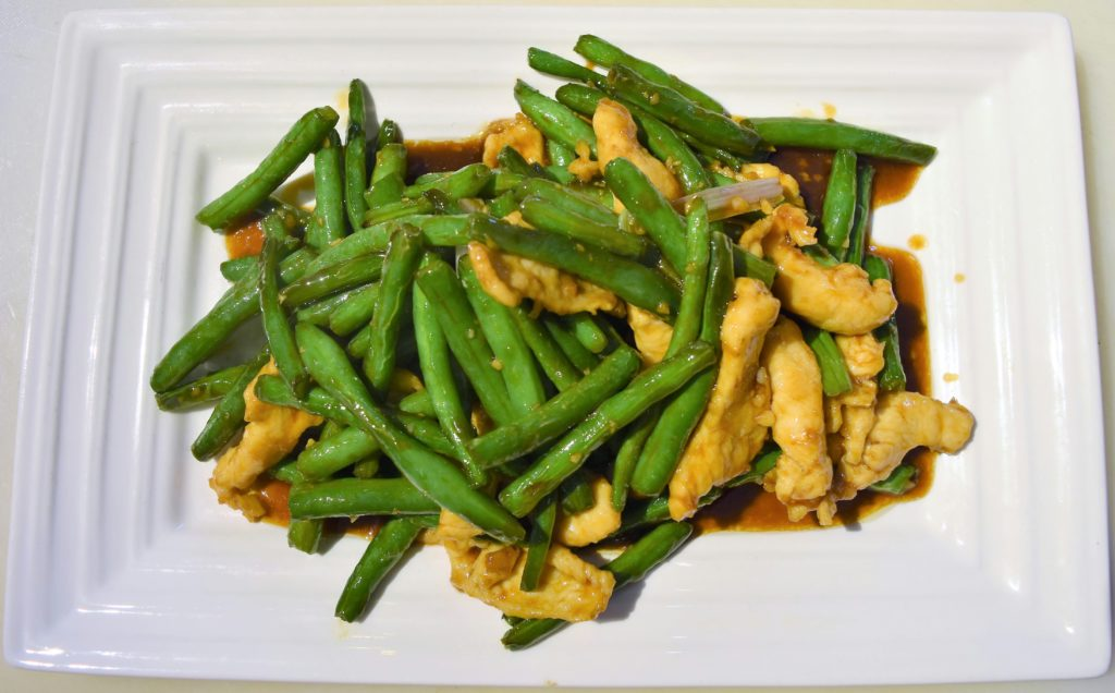 47. Chicken w/ String Bean 四季豆雞