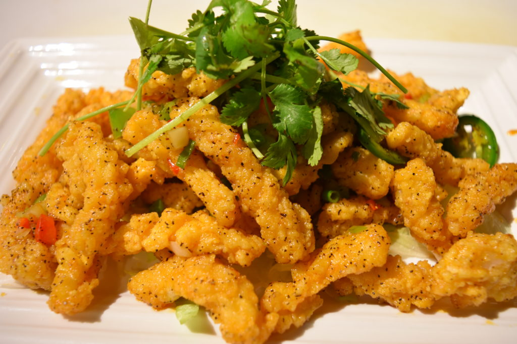 109. Salt & Pepper Squid 椒鹽魷魚