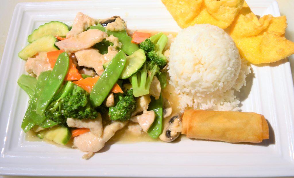 L21. Chicken w/Vegetables 素菜雞