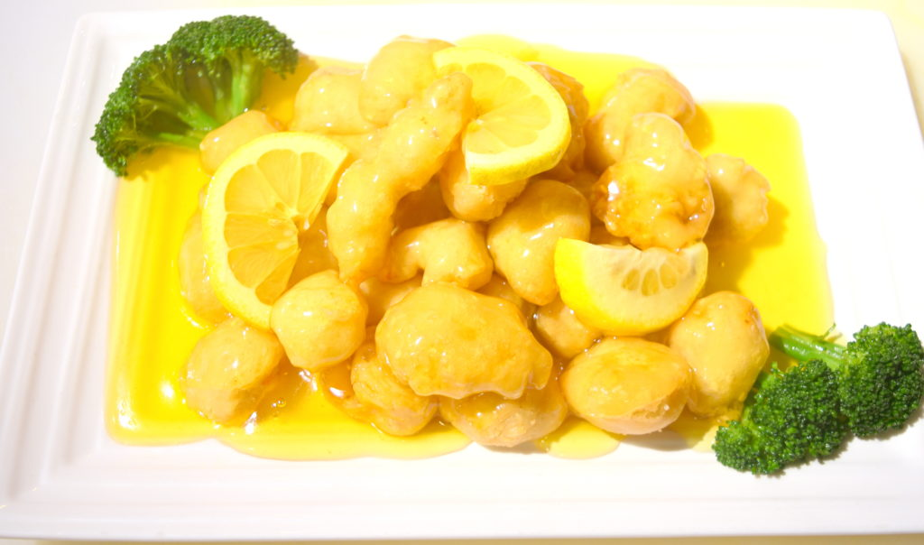 54. Lemon Chicken  檸檬雞
