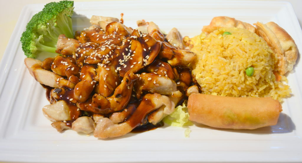 D19. Teriyaki Chicken照烧鸡