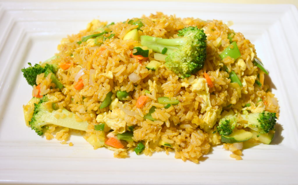 23. Vegetable Fried Rice 素菜炒飯
