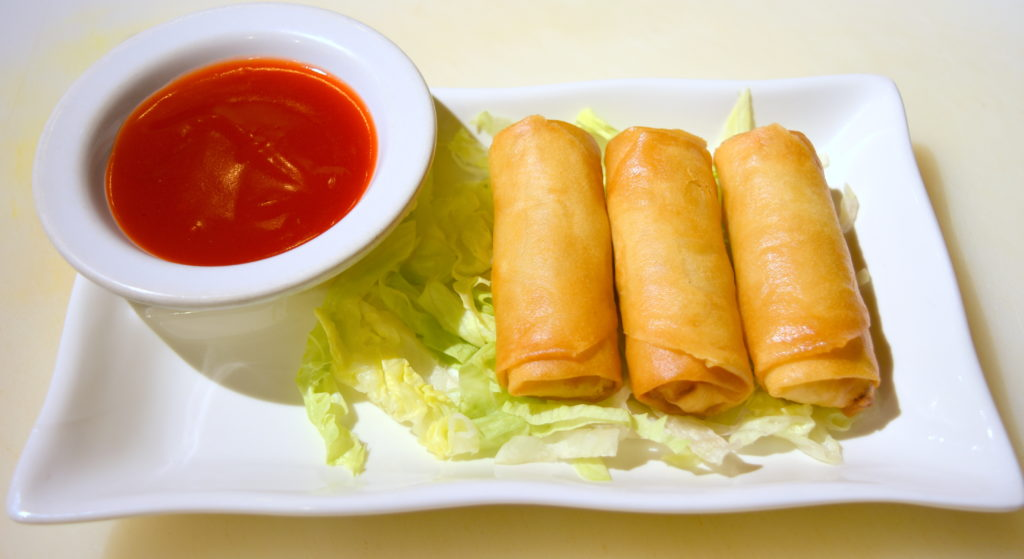 03. Vegetable Spring Egg Roll (3) 春卷