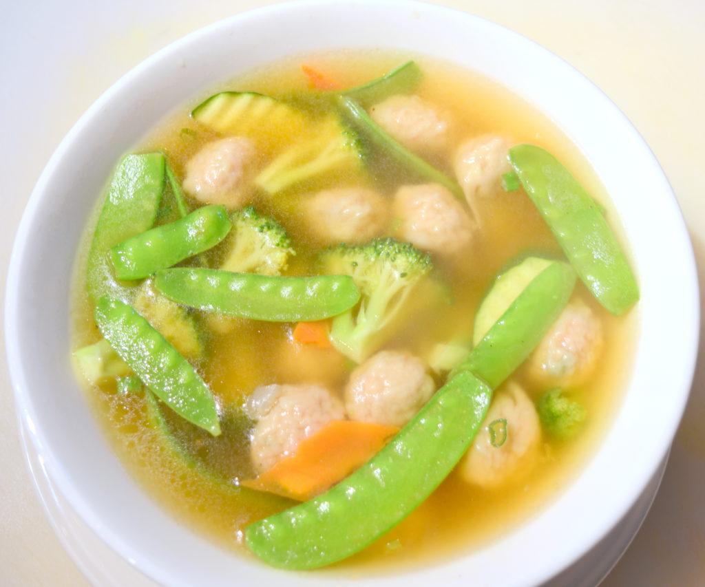 13. Won Ton Soup 雲吞湯