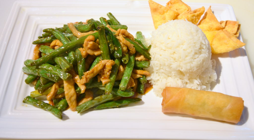L26. Pork w/ String Bean 四季豆肉