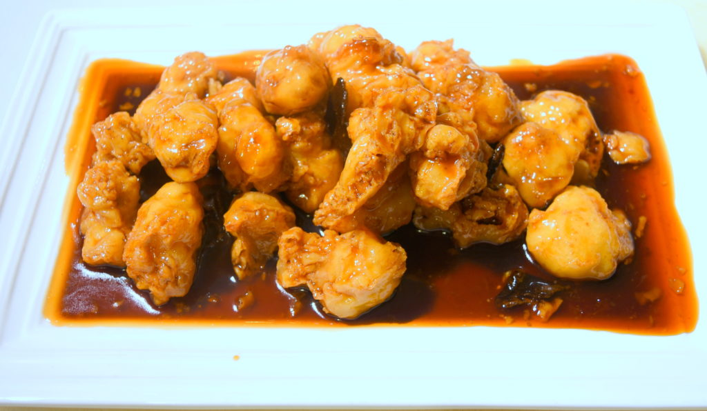 51. Orange Chicken 陳皮雞