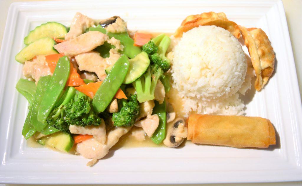 D17. Vegetable Chicken素菜鸡