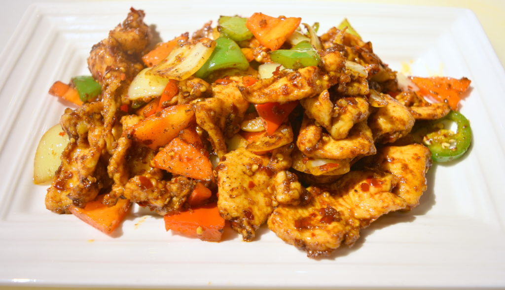 57. Cumin Chicken 孜然雞