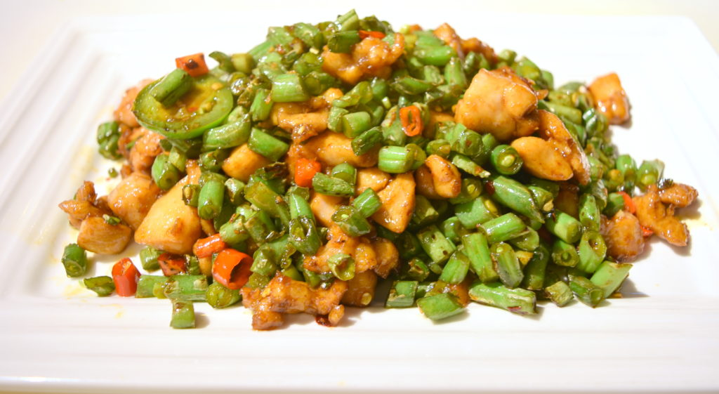 60. Chopped Pepper Chicken 剁椒雞
