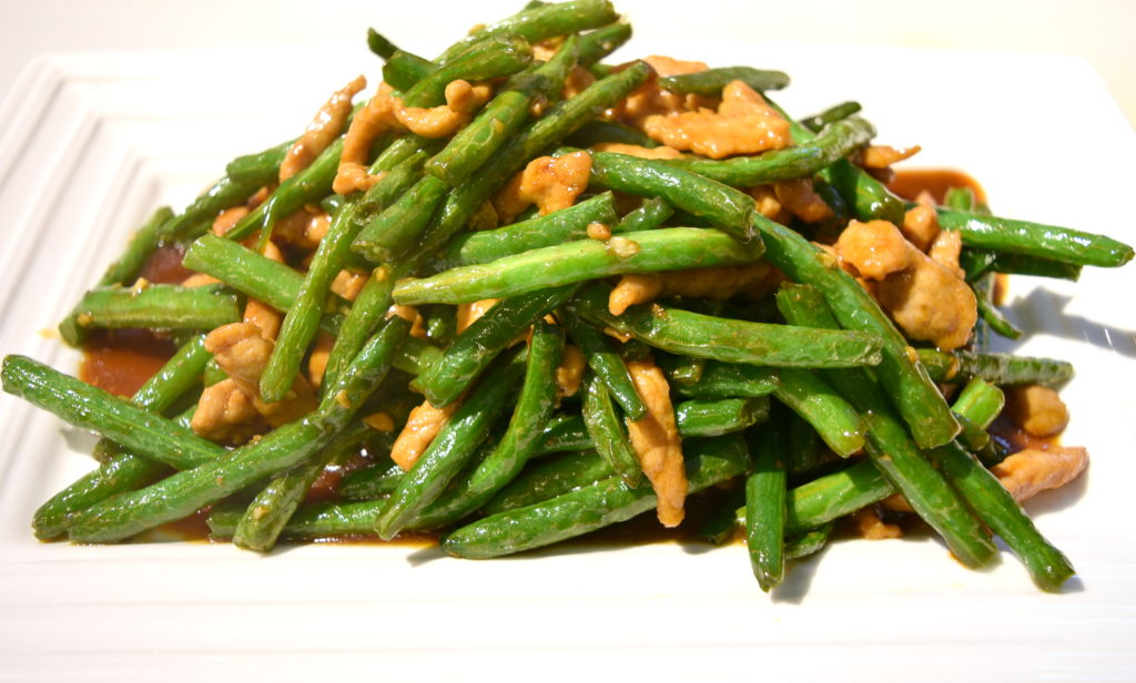 73. Pork w/String Bean 四季豆肉