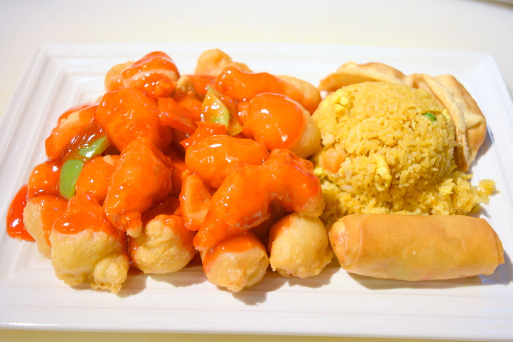D08. Sweet & Sour Chicken甜酸鸡