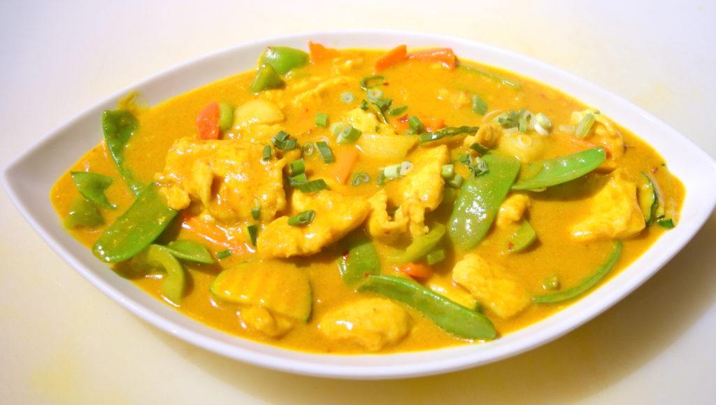 64. Curry Chicken 咖喱雞