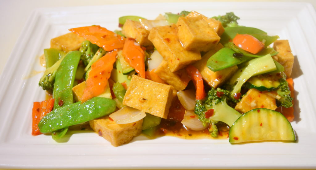115. Szechuan Deep Fried Tofu  家常豆腐