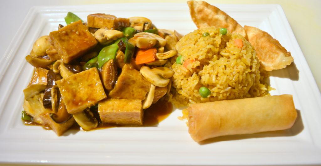 D04. Double Delight  Mushroom Tofu双菇豆腐