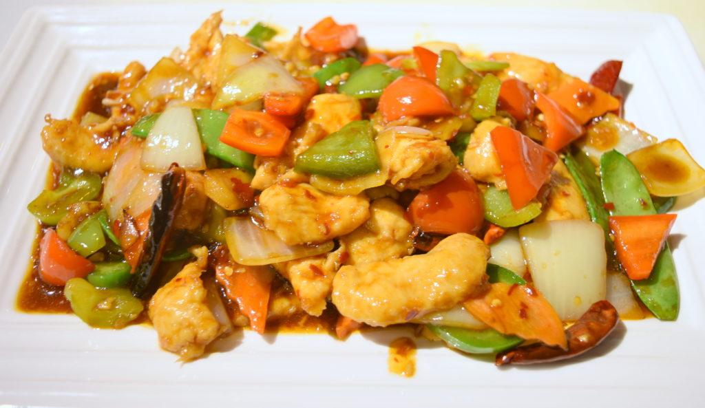41. Szechuan Chicken 四川雞