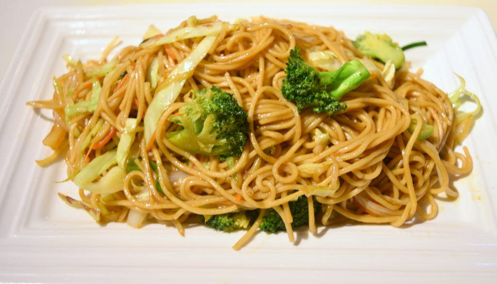 35. Vegetable Chow Mein 素菜炒面