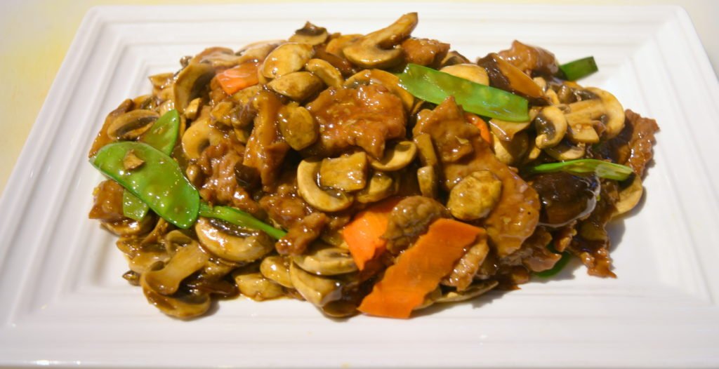 85. Double Delight Mushrooms Beef 雙菇牛