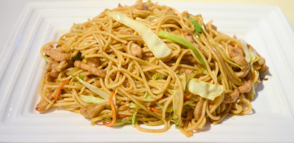 36. Pork Chow Mein 豬肉炒面