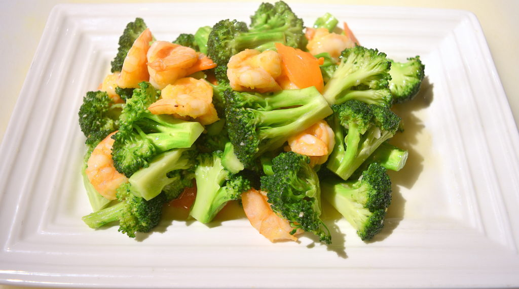 103. Broccoli Prawns 芥蘭蝦