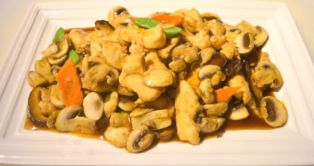 63. Double Delight Mushrooms Chicken 雙菇雞