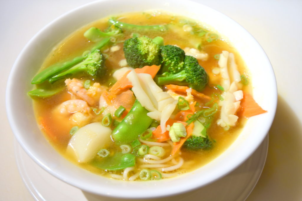 18.  Seafood Noodle Soup 海鮮湯面