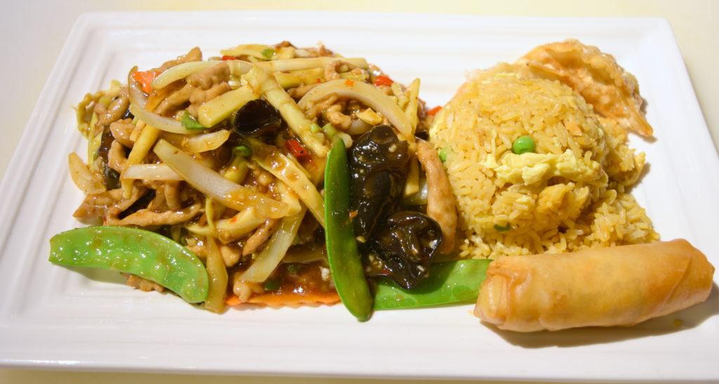 D32. Shredded Pork w/ Hot Garlic Sauce鱼香肉丝