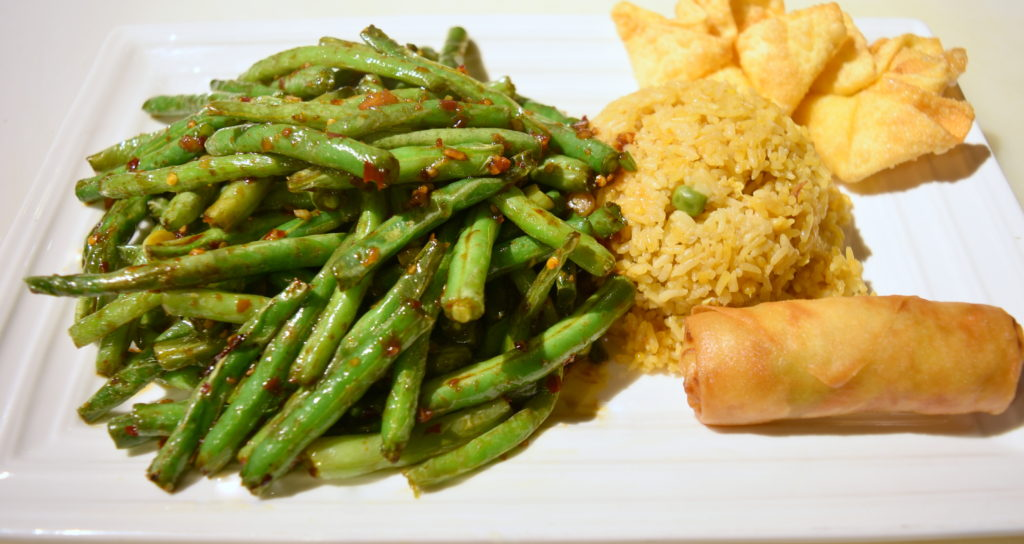 L04. Dried Sauteed String Beans 幹扁四季豆