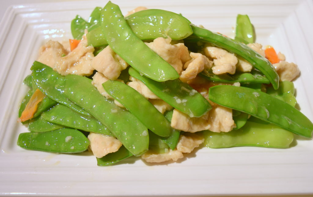 62. Pea Pod Chicken 雪豆雞