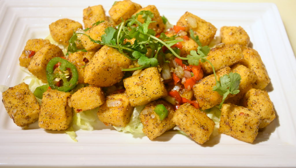 122. Salt&Pepper Tofu 椒鹽豆腐
