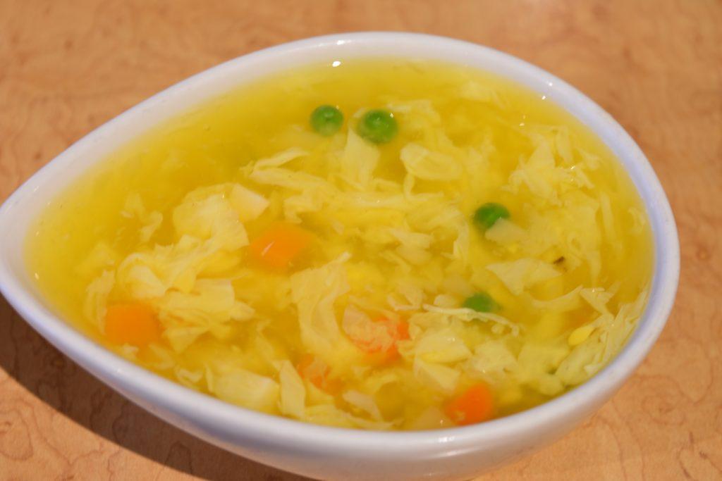 11. Egg Flower Soup 蛋花湯